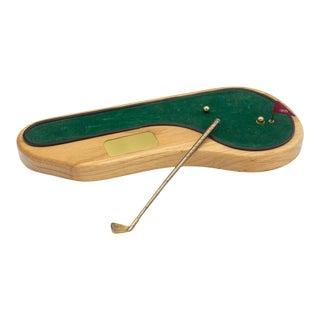 Novelty Desktop Golf Set- Putting Green For Sale