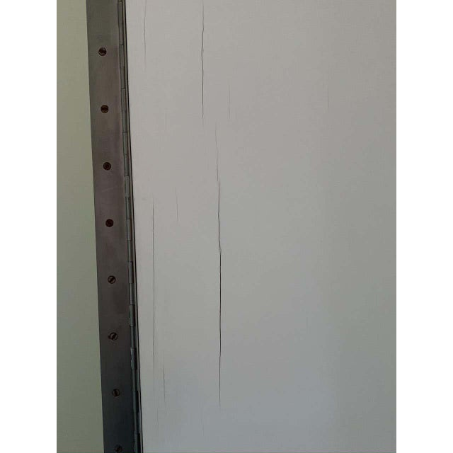 Modern Vintage Modern Mirrored Folding Screen Room Divider For Sale - Image 3 of 8