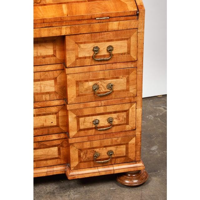 Wood Late 17th Century Northern European Walnut Secretary For Sale - Image 7 of 10