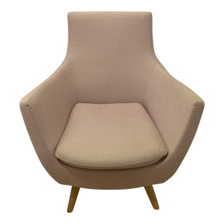 Abc Home Millennial Pink Accent Chair For Sale