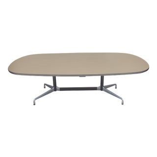 """1970s Mid-Century Modern Herman Miller """"Racetrack"""" Conference Dining Table For Sale"""