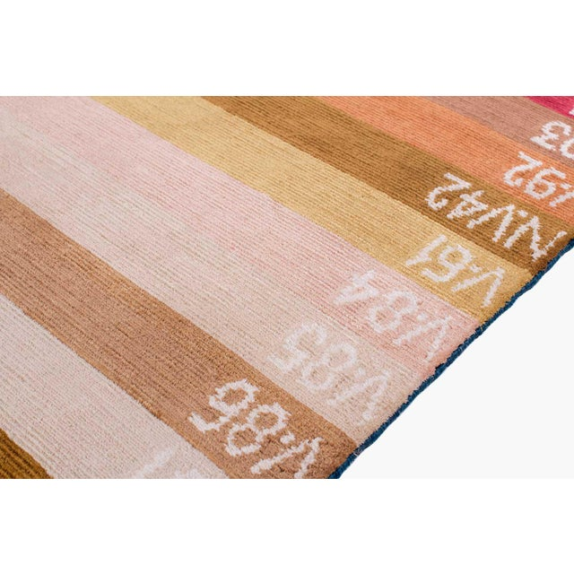 """Our """"Color Spectrum"""" is woven with parachute-like quality silk dyed in our classic Botanical Ayurvedic dyes. This carpet..."""