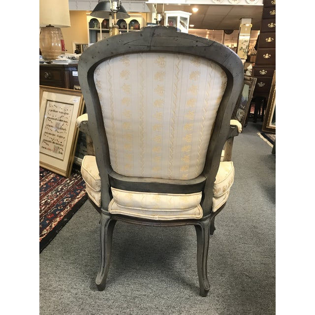 Early 20th Century Early 20th Century Vintage Louis XV Slipper Chairs- a Pair For Sale - Image 5 of 6