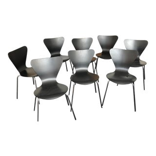 Black Butterfly Stackable Chairs - Set of 8