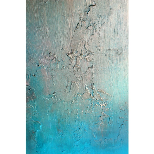 """""""Bronzed Earth"""" Original Abstract Painting - Image 3 of 3"""