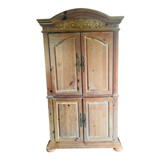 Traditional Wooden Armoire
