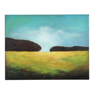 """""""Convergence"""" California Landscape Painting by June Parrish Cookson For Sale"""
