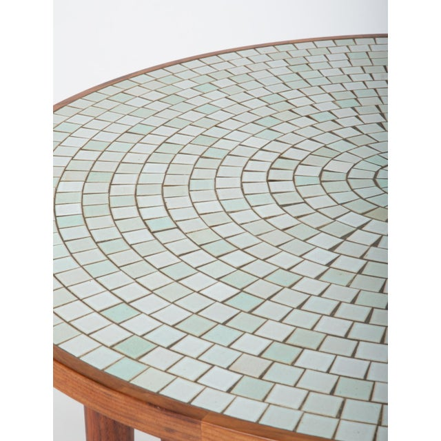 Tile-Top Walnut Dining Table by Gordon & Jane Martz for Marshall Studios For Sale - Image 11 of 13