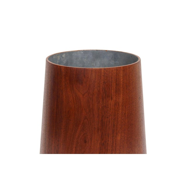 Brown Collection of Jens Risom Wastebaskets For Sale - Image 8 of 13