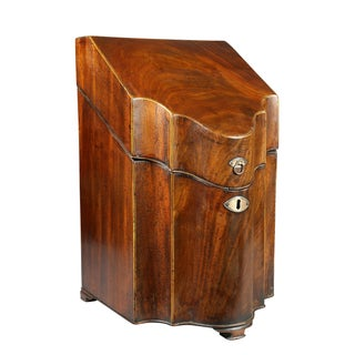 Pair of George III Mahogany Cutlery Boxes Preview