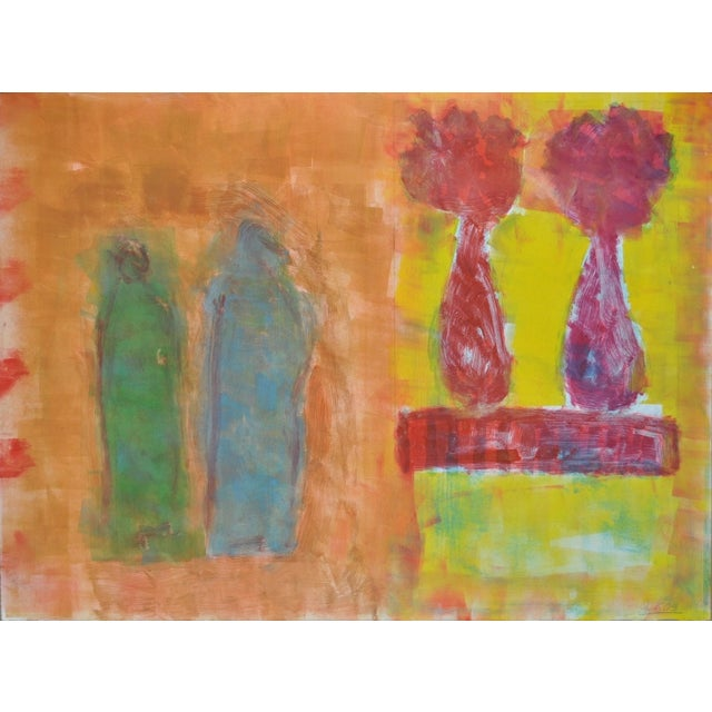 Figurative Still Life with Flowers C.2005 - Image 1 of 4