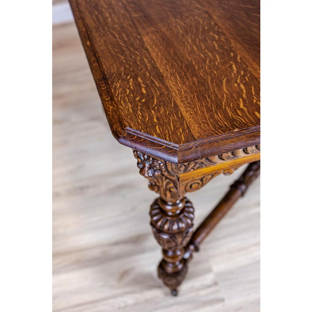 Traditional 19th-Century Eclectic Table For Sale - Image 3 of 11