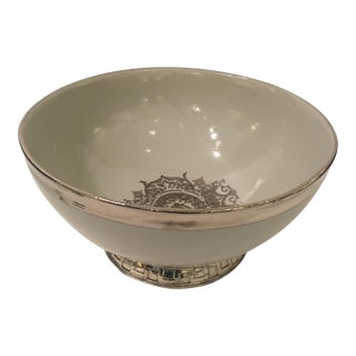 Contemporary Porcelain Bowl For Sale