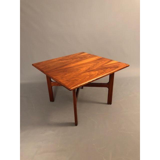 Walnut D.Mcguire Mid-Century Walnut Coffee Table For Sale - Image 7 of 8