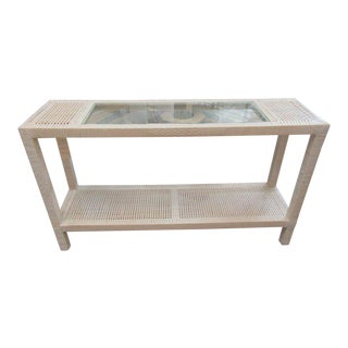 Island Style Wrapped Console Table