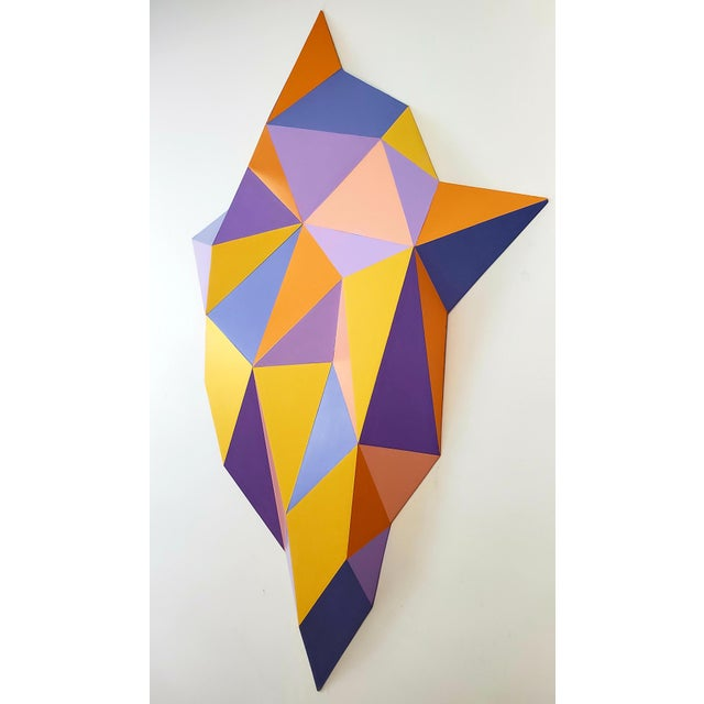 Contemporary Abstract Sassoon Kosian Vision From Beyond Wall Sculpture For Sale - Image 3 of 7