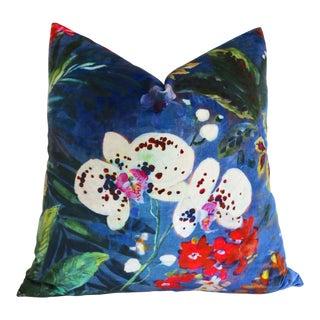 Orchid Velvet Pillow Cover 24x24 For Sale