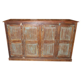 1920's Rustic Reclaimed Sideboard For Sale