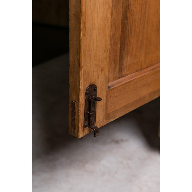 19th Century English Pine Armoire - Image 8 of 11