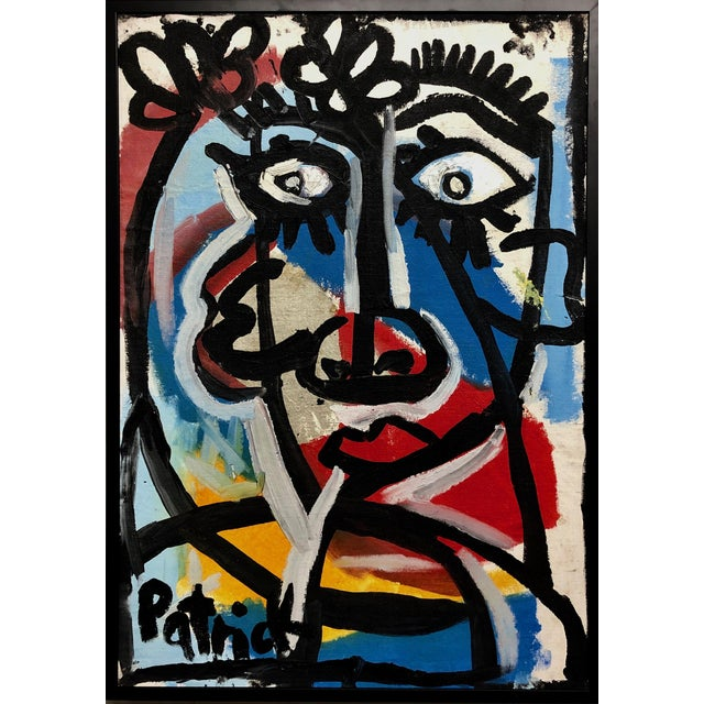 1990s Patrick Ames Williamson Untitled Painting For Sale