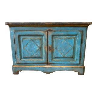 Italian Tuscan Antique Painted Buffet - 18th C For Sale