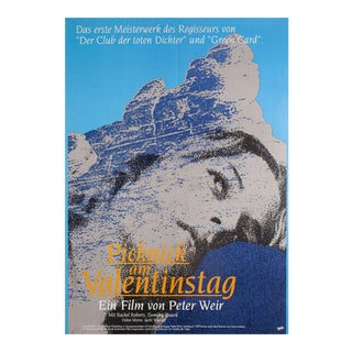 Picnic at Hanging Rock R1989 German A1 Film Poster For Sale