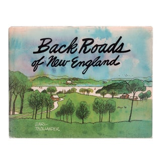 """1982 """"Back Roads of New England"""" Coffee Table Book For Sale"""
