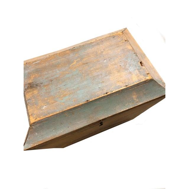 1900 - 1909 Antique Swedish Storage Box For Sale - Image 5 of 7