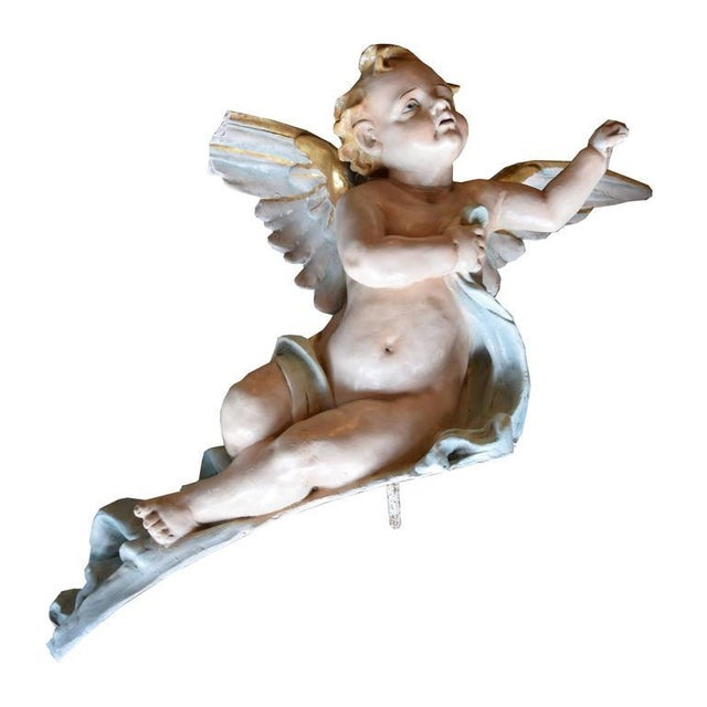 Pair of American Putti - Image 2 of 6