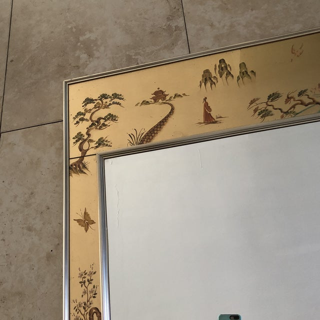 Asian Chinoiserie La Barge Mirror For Sale - Image 3 of 8
