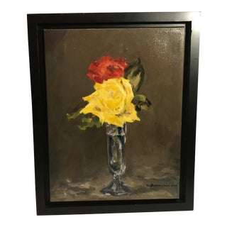 Original Floral Oil Painting For Sale