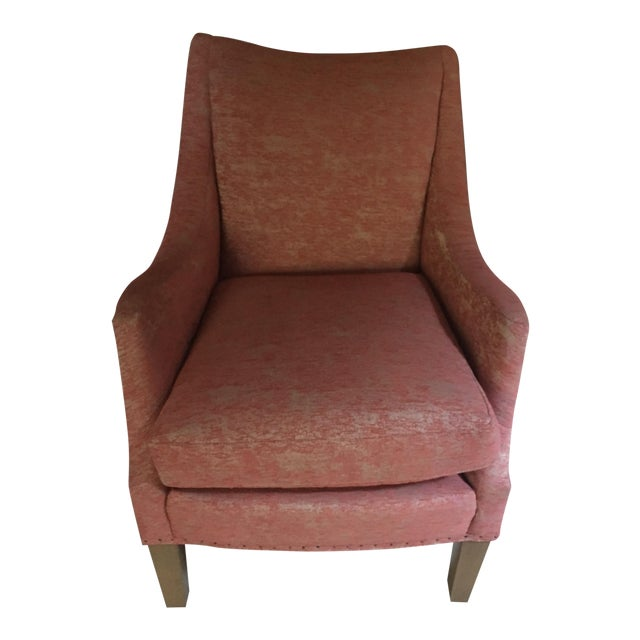 Lee Industries Red Armchair - Image 1 of 3