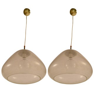 Pair of Gerald Thurston Lightolier Fixtures For Sale