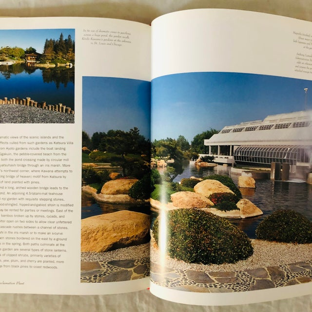"""1999 """"Japanese Style Gardens of the Pacific West Coast"""" Rizzoli Garden & Design Book For Sale In Los Angeles - Image 6 of 8"""