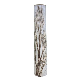 1970s Birch Tree Studio Tall Pottery Vase For Sale