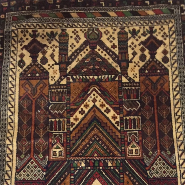 Baluchi Persian Rug - 2′3″ × 4′8″ - Image 4 of 8