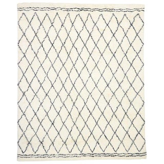 Contemporary Moroccan Style Rug - 9′3″ × 11′11″ For Sale