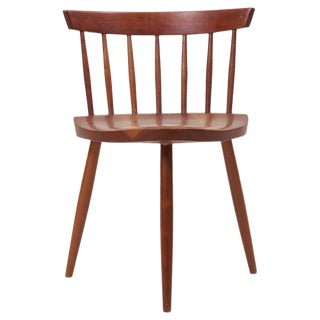 Early George Nakashima Studio Mira Nakashima Mira Chair in Cherry For Sale