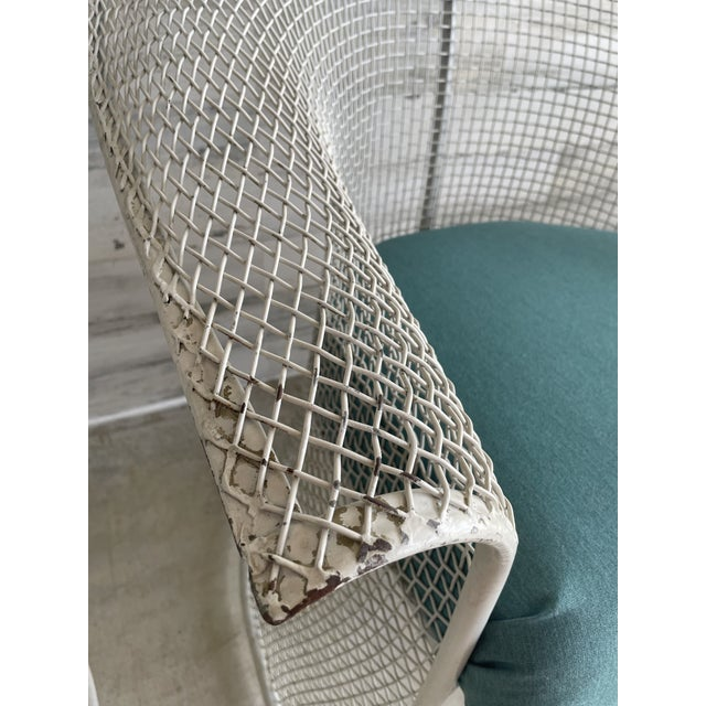 Mid Century Wire Formed Patio Set For Sale - Image 12 of 13