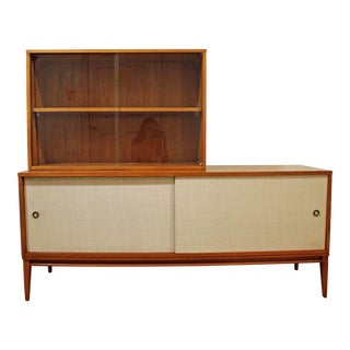 Mid-Century Modern Paul McCobb Planner Group 2-Piece Credenza/Media Console For Sale