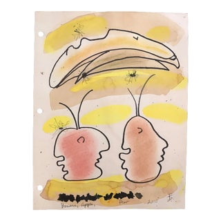 "James Bone ""Banana, Apple Pear"" Masque Study For Sale"