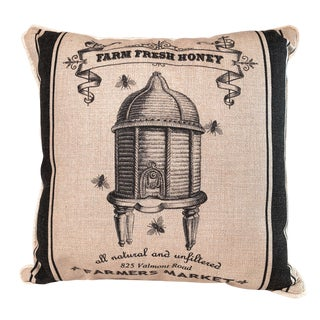 Farm Fresh Honey Pillow