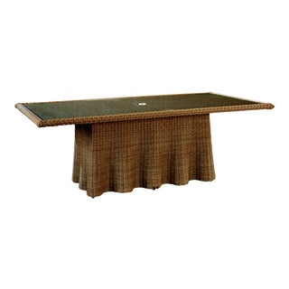 Celerie Kemble - Crespi Wave Rectangular Dining Table For Sale