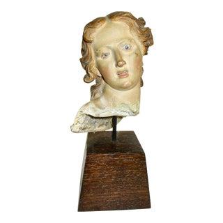 18th Century Italian Angel Creche Figure Sculpture For Sale