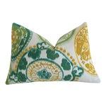 Sunbrella Suzani Outdoor Lumbar Pillow Cover 12x18