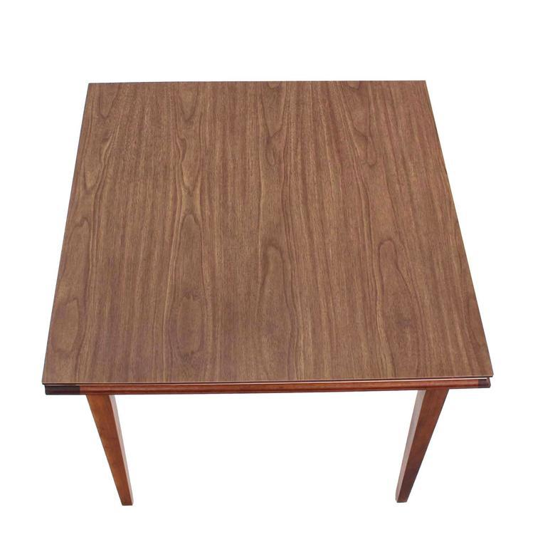 Square Flip Top Game Table For Sale   Image 4 Of 8