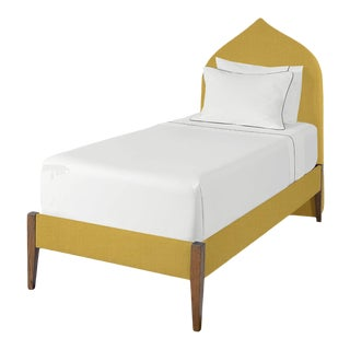 The Crown Bed - Twin - Charlotte - Italian Blend, Lemongrass For Sale