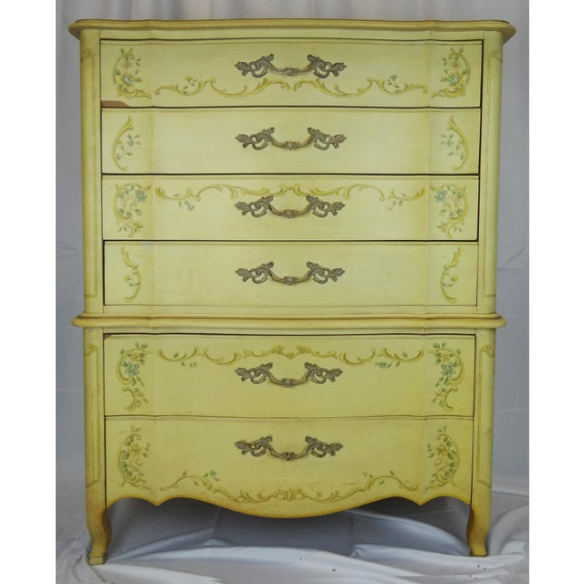 1940s Vintage Heritage French Provincial Style Dresser For Sale - Image 10 of 10