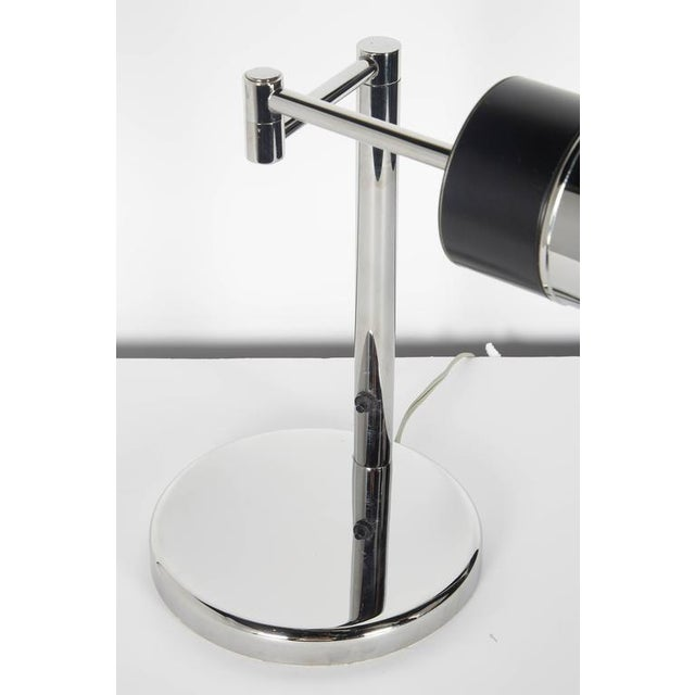 Metal Mid-Century Modern Swing Arm Desk Lamp by Nessen Studios For Sale - Image 7 of 10