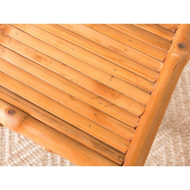2010s Bamboo Side Chair For Sale - Image 5 of 6